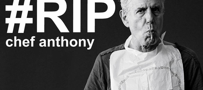 Anthony Bourdain, chef e apresentador americano, morre aos 61 anos
