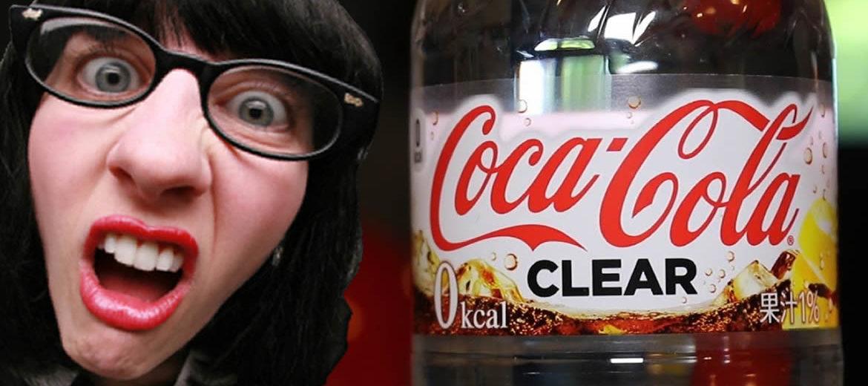 Coca-Cola lança refrigerante transparente