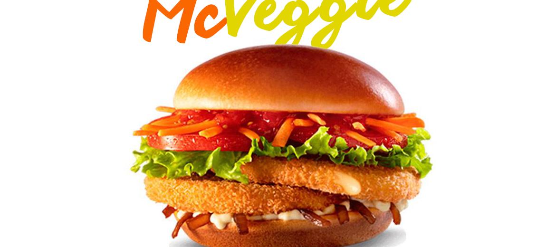 McDonald´s lança Seu primeiro sanduíche vegetariano