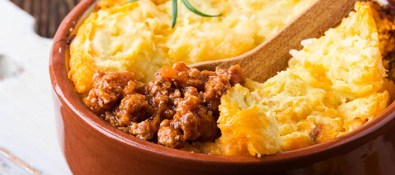 Escondidinho de batata com carne moída super simples e delicioso