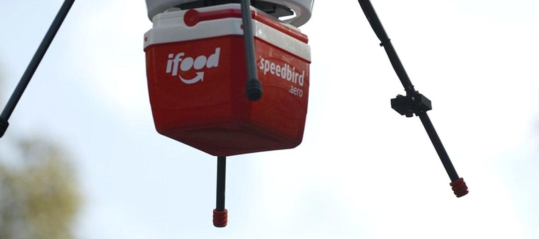 iFood vai testar entregas com drones no Brasil com aval da ANAC