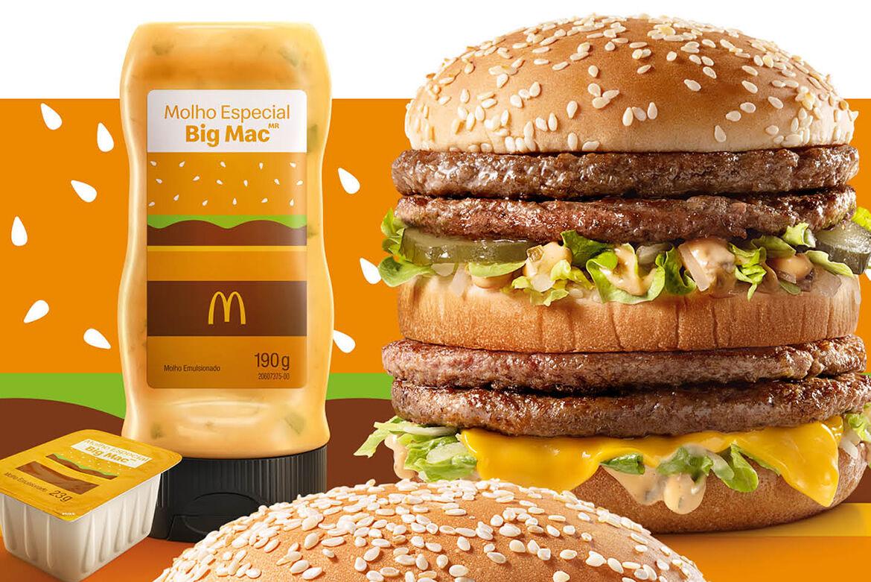McDonald's vai vender molho do Big Mac separadamente no Brasil