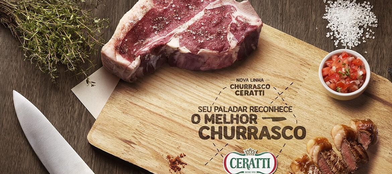 Novidade nas grelhas: Ceratti lança linha de carnes